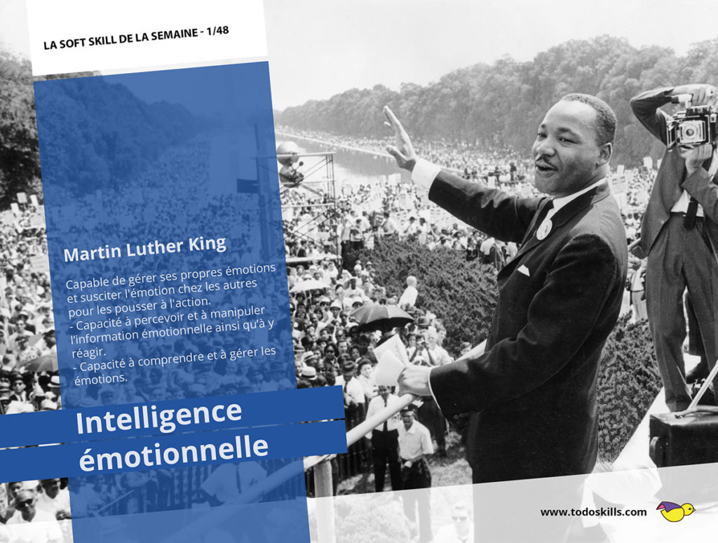 L'intelligence émotionnelle et Martin Luther King