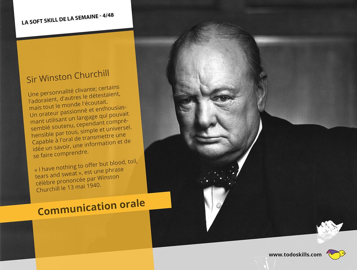 La communication orale et Sir Winston Churchill