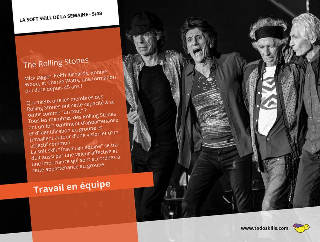Le travail d'équipe et les Rolling Stones