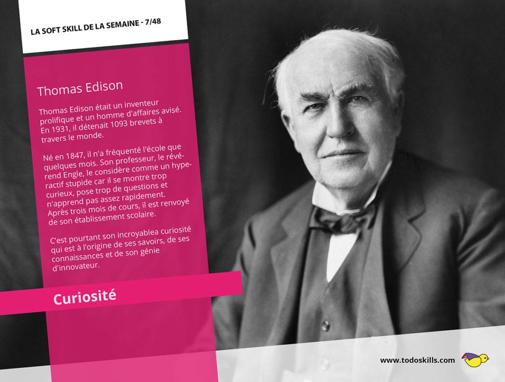La curiosité et Thomas Edison